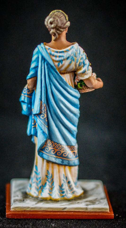 6272 Roman Woman w- Flowers 2