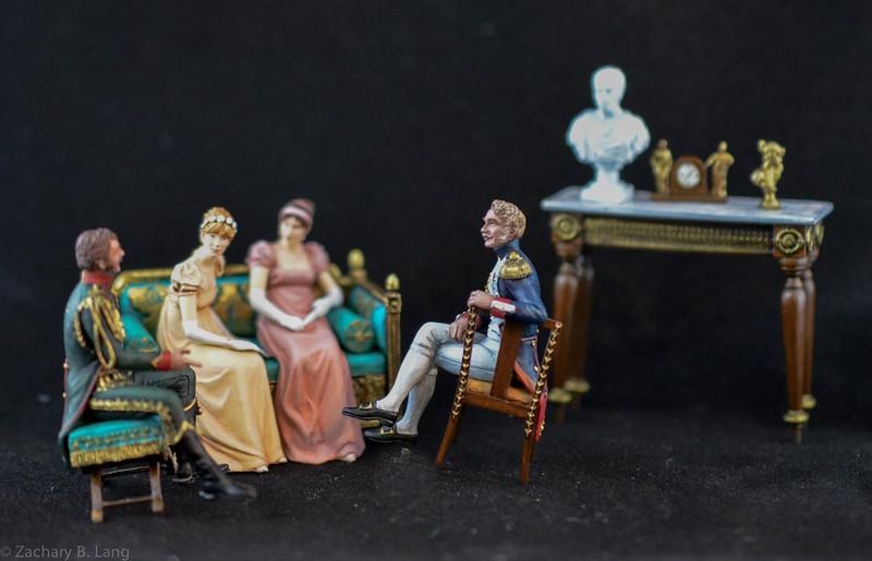 ArtIG - French Grenadier and Chasseur Socializing