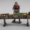 The Vegetable Seller - Rose Minatures John Eden