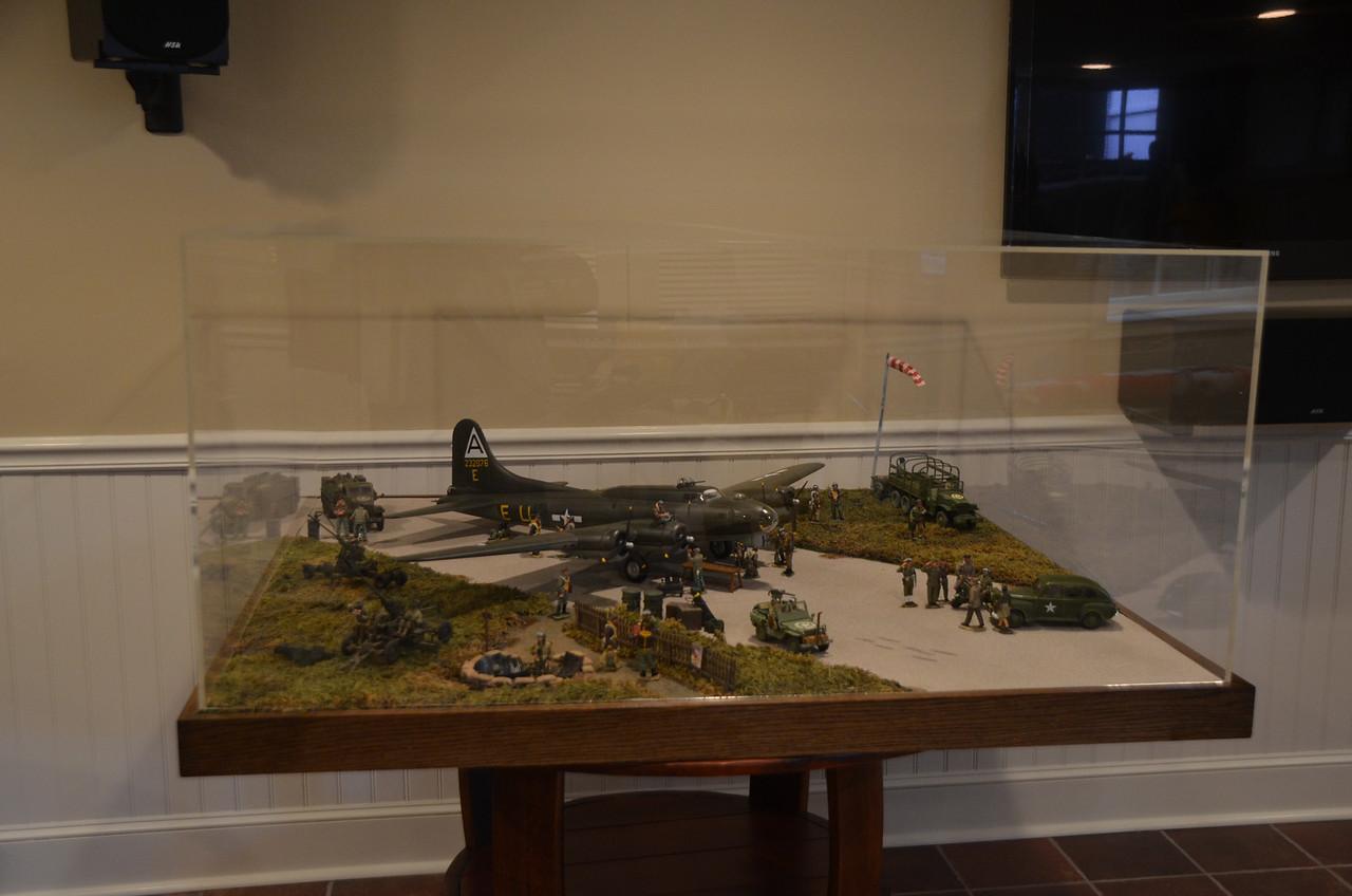 Bassingbourn Airfield K&C B-17  20