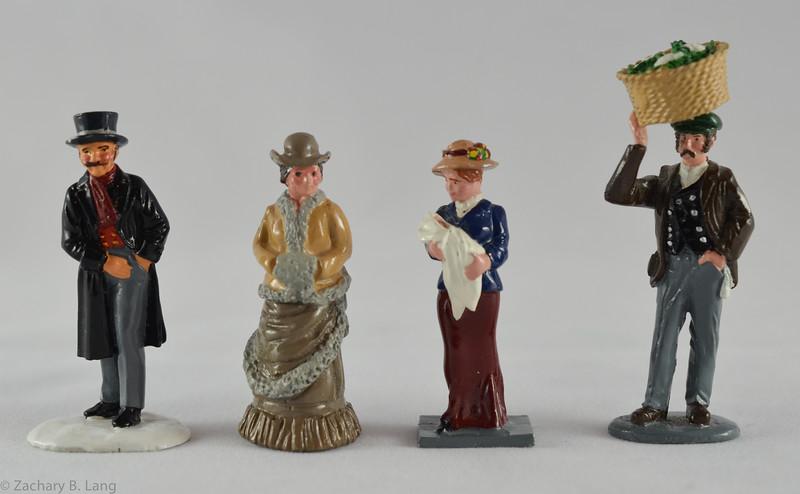 4 Misc Trophy figures