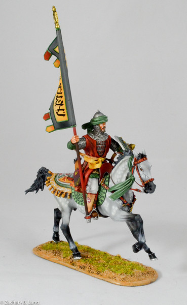 Mounted Mamluk Standard Bearer-First Legion-CRU100 img1