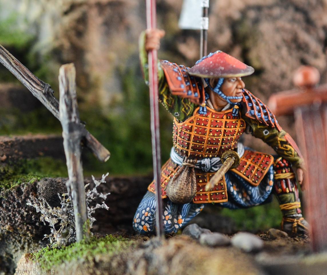 D97 Samurai Diorama - AeroArt 6