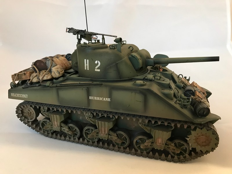 US M4 75mm Sherman Tank Hurricane-First Legion-NOR048