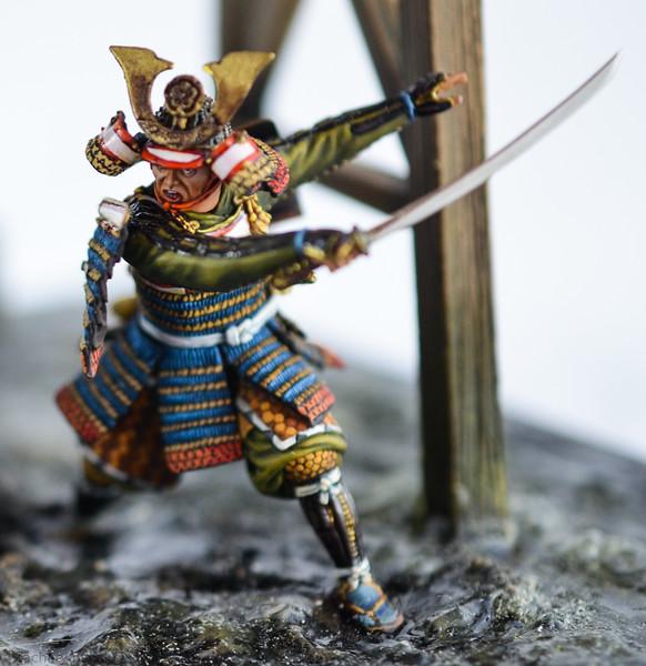 D97 Samurai Diorama - AeroArt 8