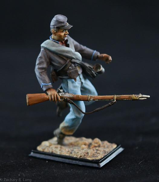 3842 2 1st South Carolina Volunteer Infantry w- Rifle 1