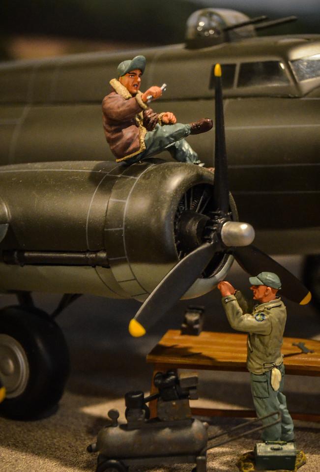 Bassingbourn Airfield K&C B-17  8