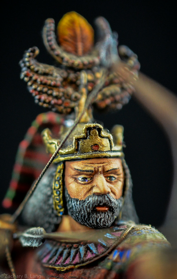 Persian Archer Mounted 3