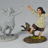 """Little Julie"" Indian Girl with Dog-John Jenkins Designs-RSF-32"