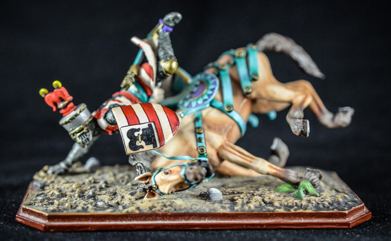 Knight on Falling Horse - Guillaume de Livron 1