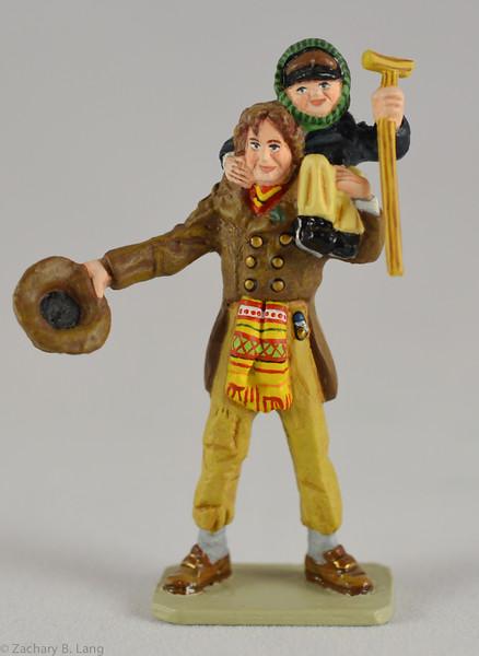 D017 Bob Cratchit and Tiny Tim