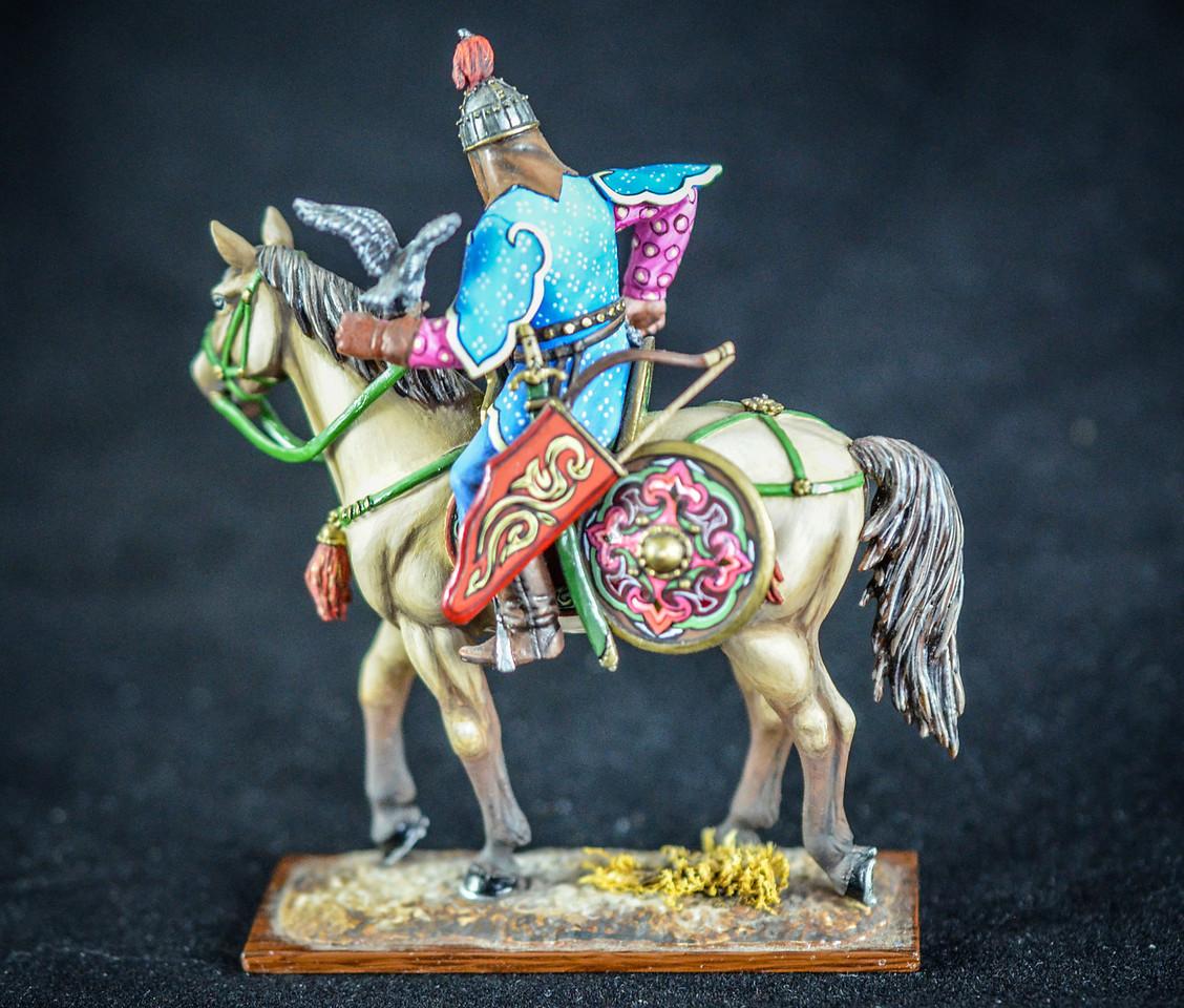 Mongol General Bayan w- Hawk 2
