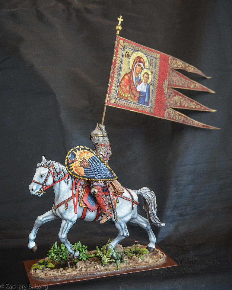 Russian Noble w-Religious Flag 90mm 5