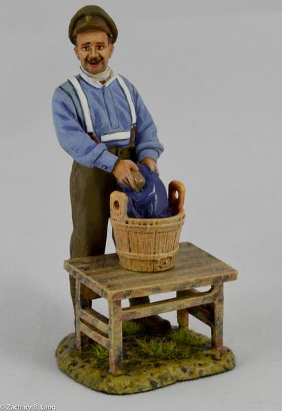 The Washer Man - British-Thomas Gunn-GW071A