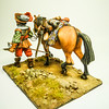 Tilly's Army on the March-Officer with Patter Horse-Peipp Miniaturen-img4