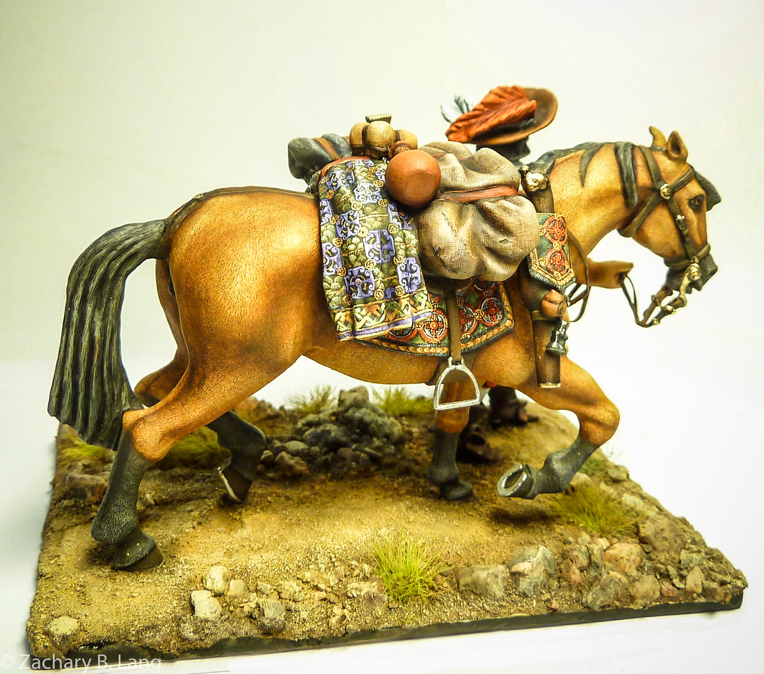 Tilly's Army on the March-Officer with Patter Horse-Peipp Miniaturen-img3