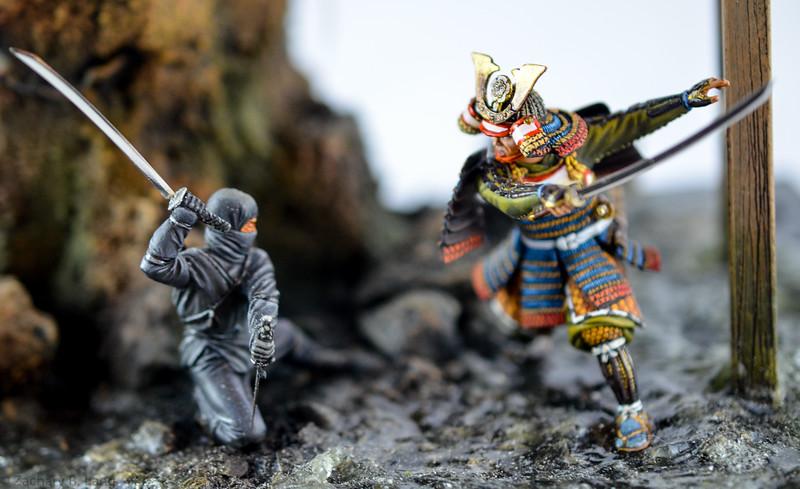 D97 Samurai Diorama - AeroArt 7