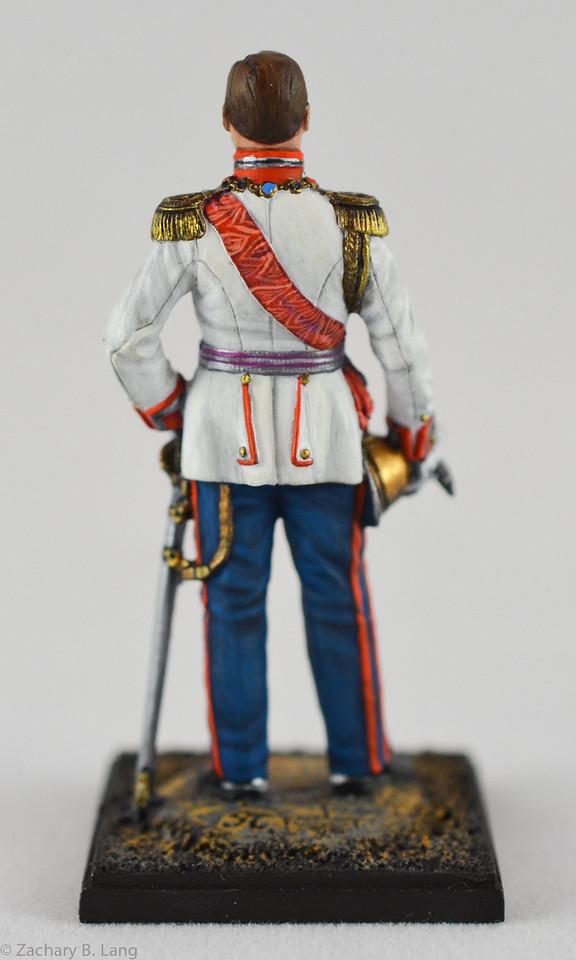 Lead Army 5810 Emperor Nicholas II - 1912 2