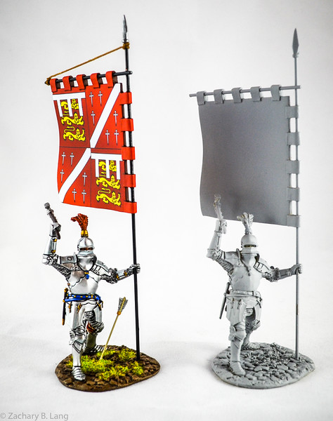 Yorkist Knight-War of the Roses-Battle of Bosworth Field 1485-with prototype-John Jenkins Designs-YORK-20
