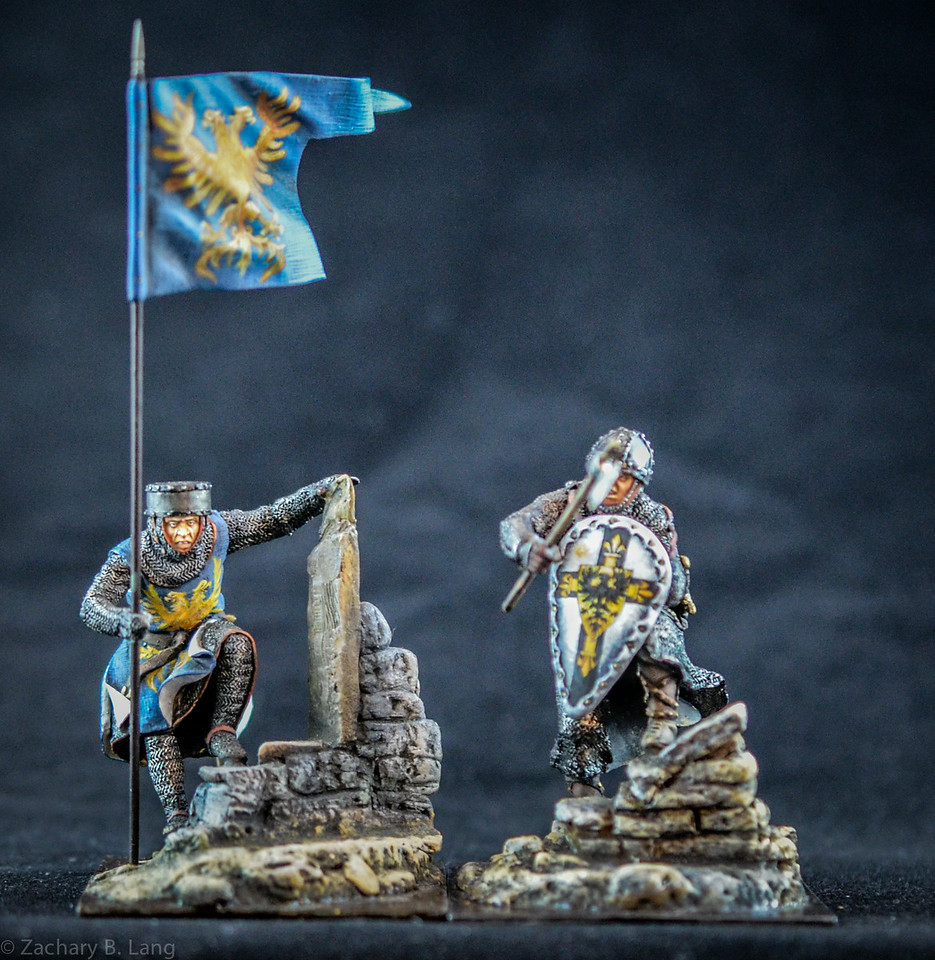 Norman and Crusader Knights w- Special Bases