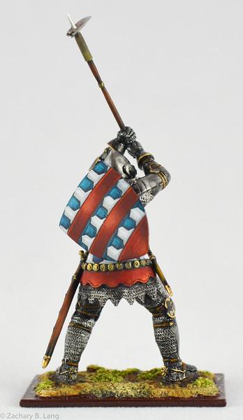 6349 Knight in Battle w- Battle Hammer - protoype 3