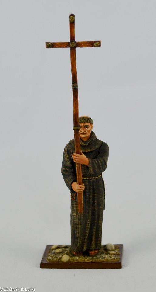 Monk Peter the Hermit with Wooden Cross-AeroArt-St Petersburg Collection-3963 2 img1