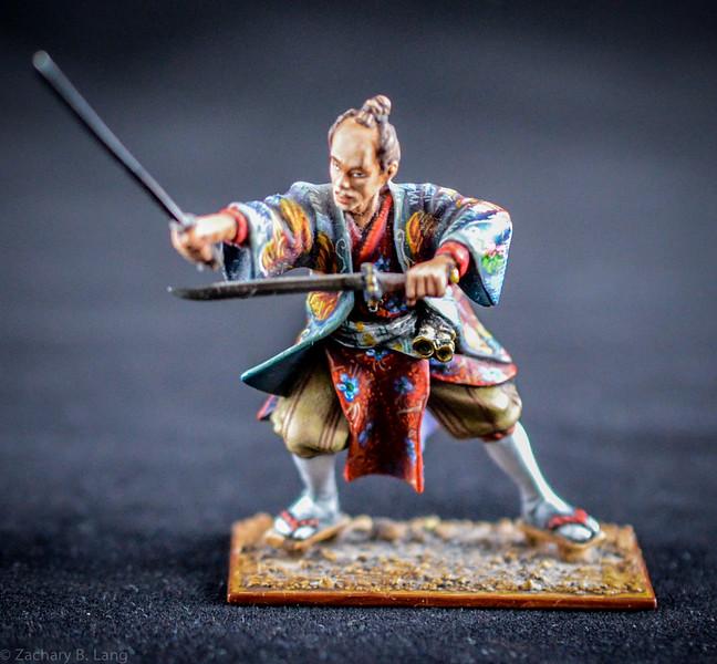 3606 Samurai Warrior w- Two Swords 1