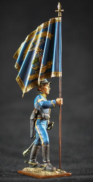 Union Cavalryman w- Flag 2