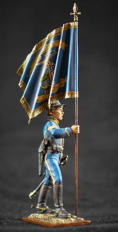 Union Cavalryman w- Flag 2