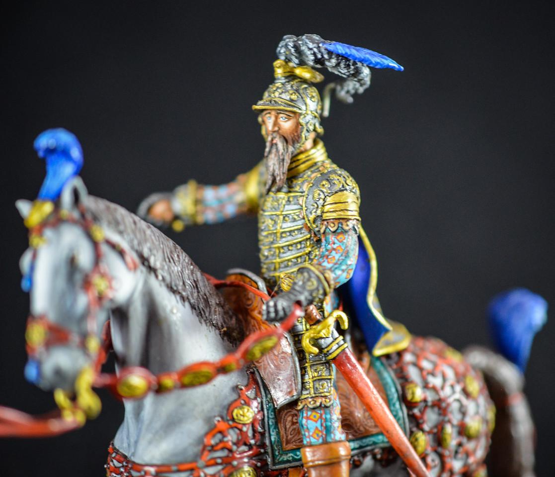 Duke Ferdinand, Austrian Regent 16th Cent w- Knight in Armor 2