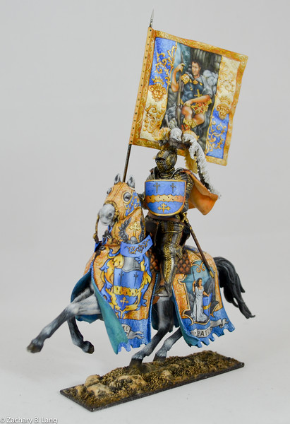 Parade Knight with Flag-Sineus Casting - Painted by Vitaly Puzenko-CF05 3 img4