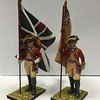 British 22nd Foot Standard Bearers-First Legion-AWI041 and 42