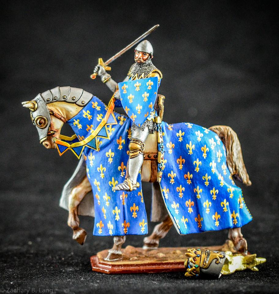 """356 King Jean II """"The Good"""" Mounted 1"""