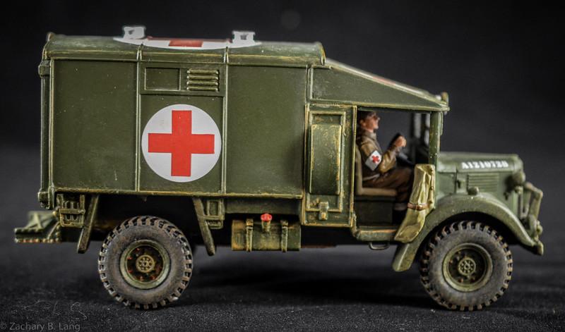 K&C FOB040 Austin K2 Ambulance 1