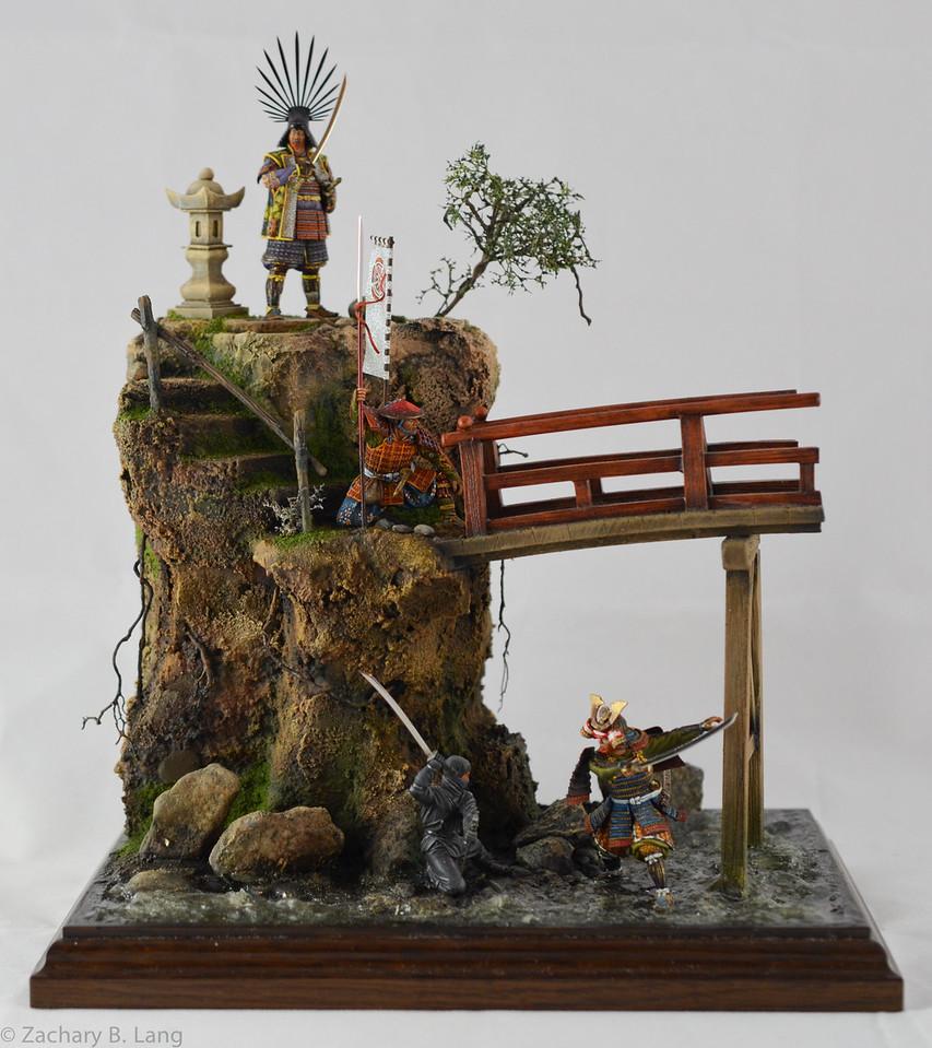 D97 Samurai Diorama - AeroArt 1