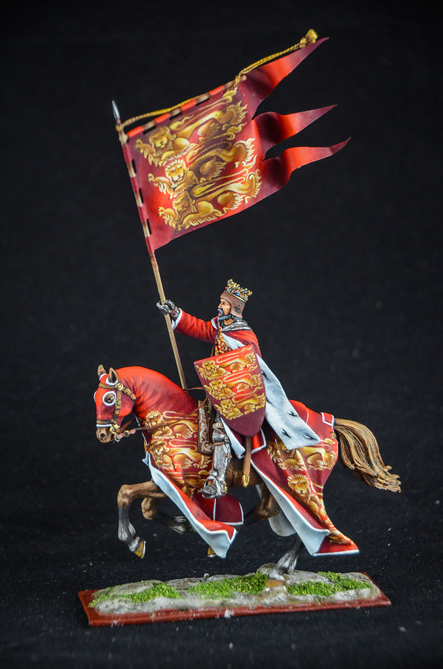 Richard the Lionheart w- Flag 1