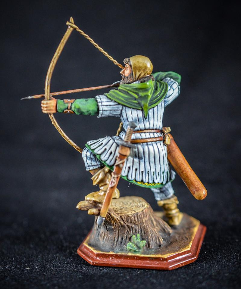 Saxon Archer Firing Bow 2