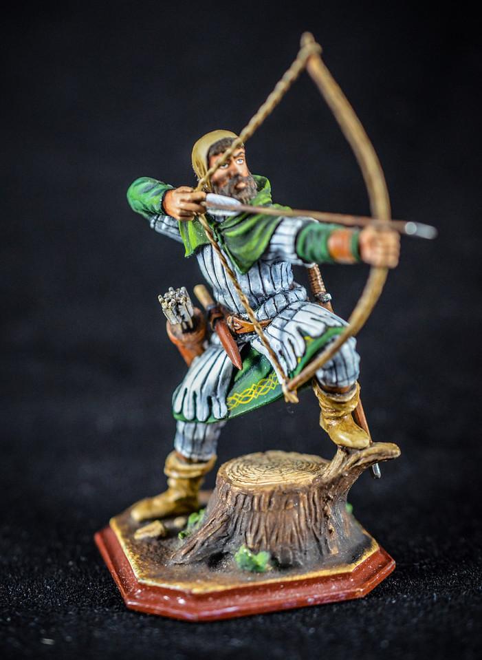 Saxon Archer Firing Bow 1