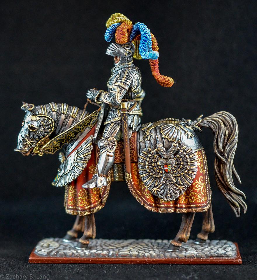 6275 Holy Roman Emperor Frederick III in Ceremonial Armor 1