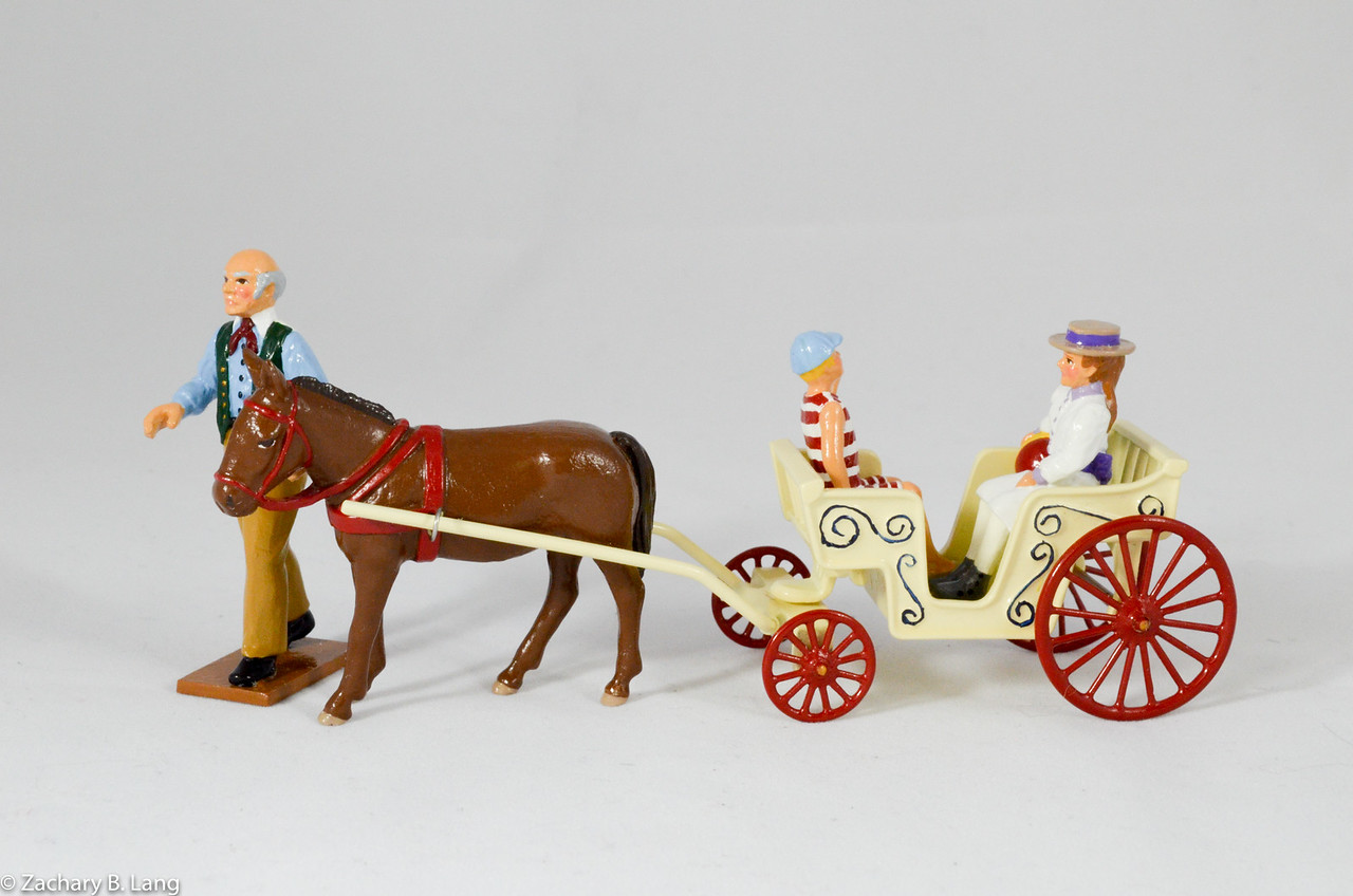 The Donkey Carriage-Trophy-C80