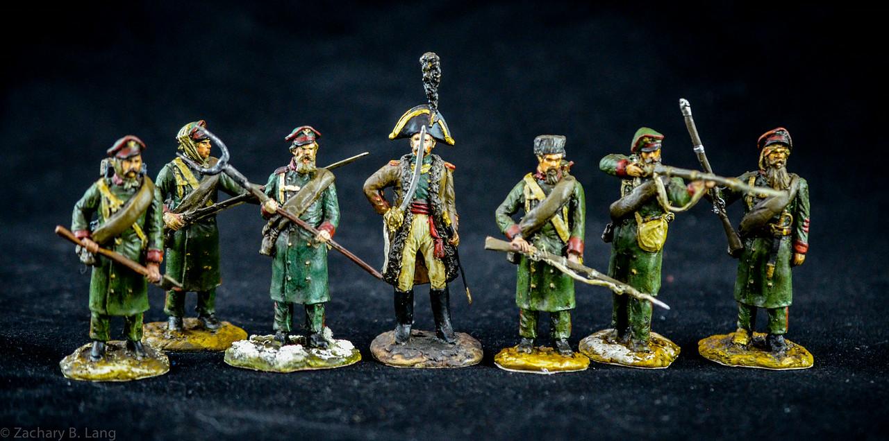 Manes Marzano Russian Militia Napoleonic Wars