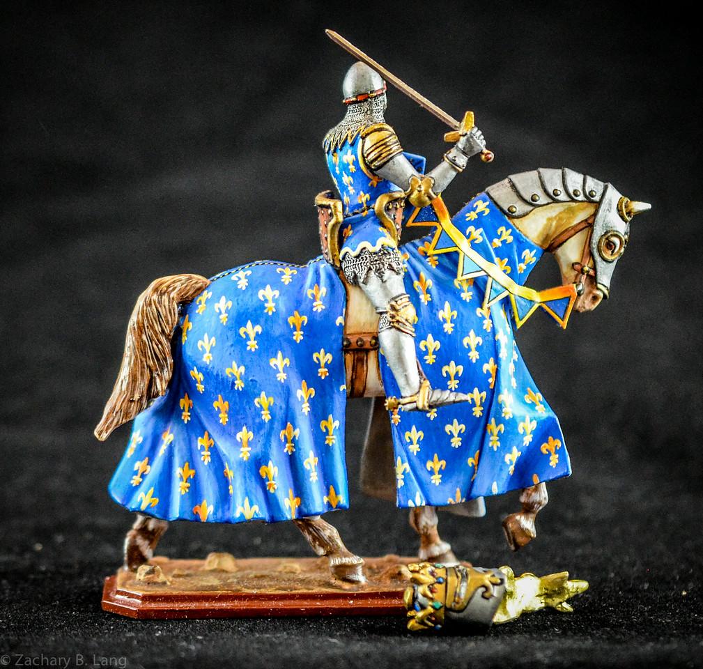 """356 King Jean II """"The Good"""" Mounted 2"""