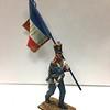 French 45th Line Infantry Standard Bearer-waterloo 1815-First Legion-NAP0456b