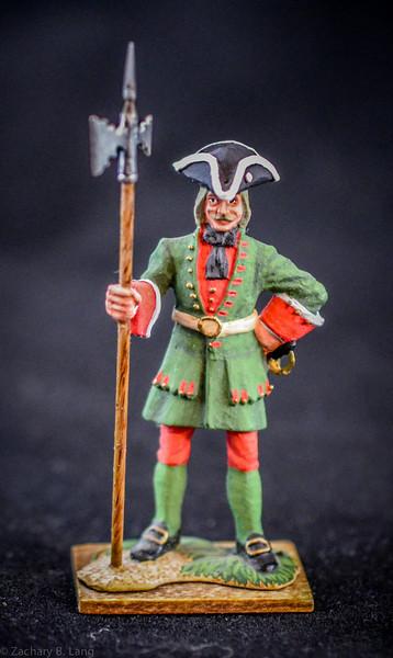 055 Sergeant, Fusiliers w-Pike-1709