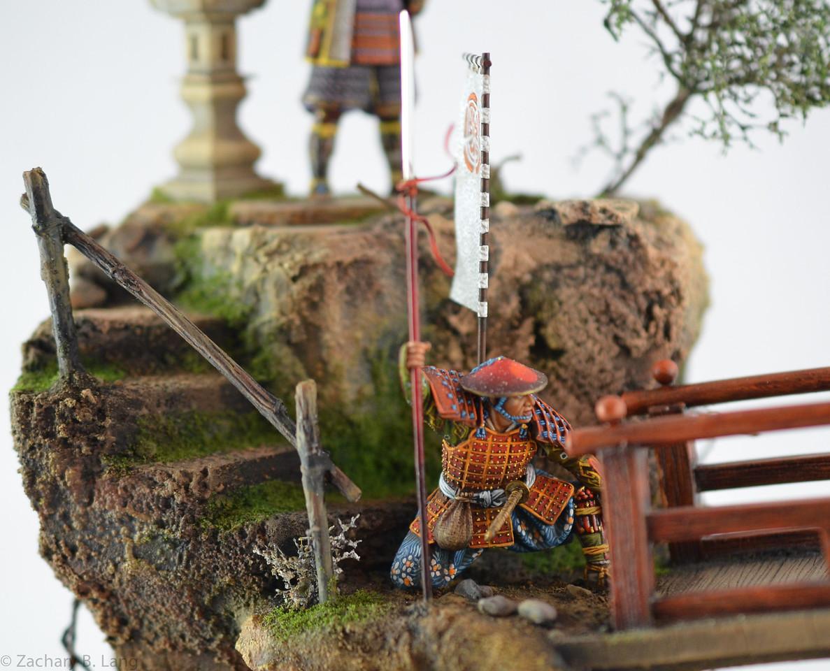D97 Samurai Diorama - AeroArt 5