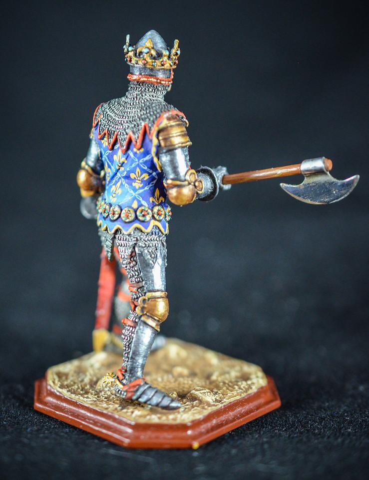 French King Jean II w Axe 2