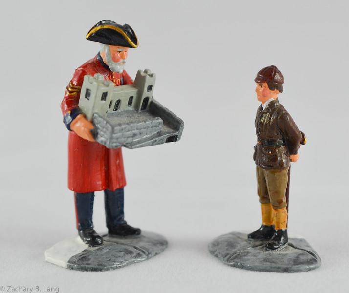 Trophy Pensioner Showing Boy Toy Castle