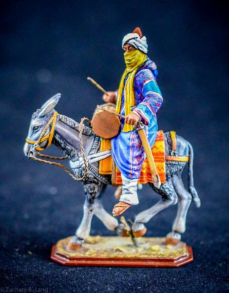 365 Arab Drummer on Donkey 1