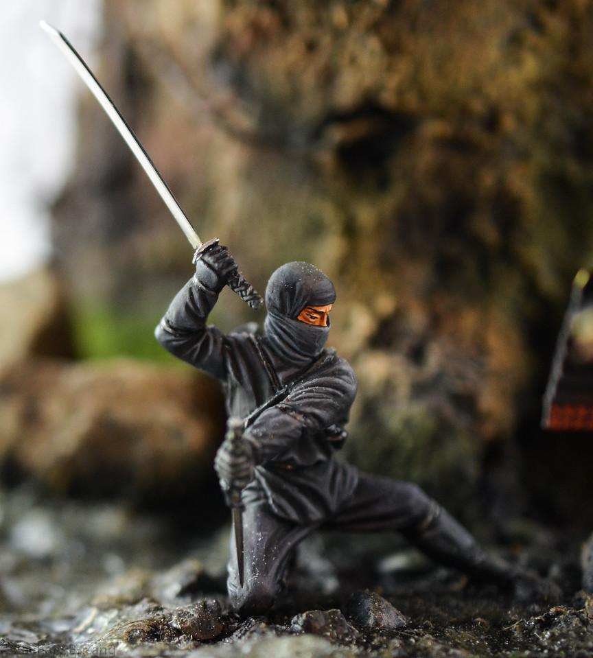 D97 Samurai Diorama - AeroArt 9
