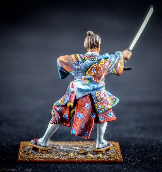 3606 Samurai Warrior w- Two Swords 2